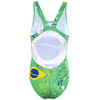 Turbo Brasil Wide Strap Swimsuit Women green/yellow